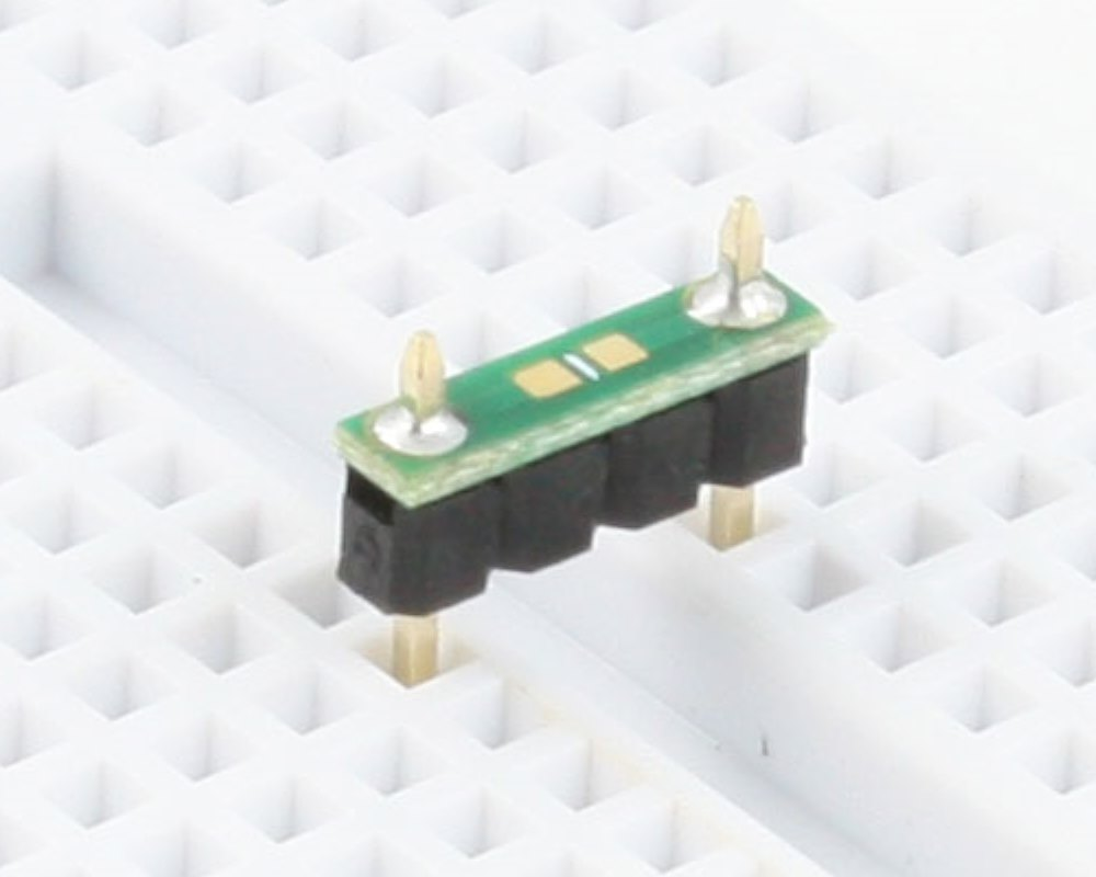 Discrete 0603 to 300mil TH Adapter - TH pins 0
