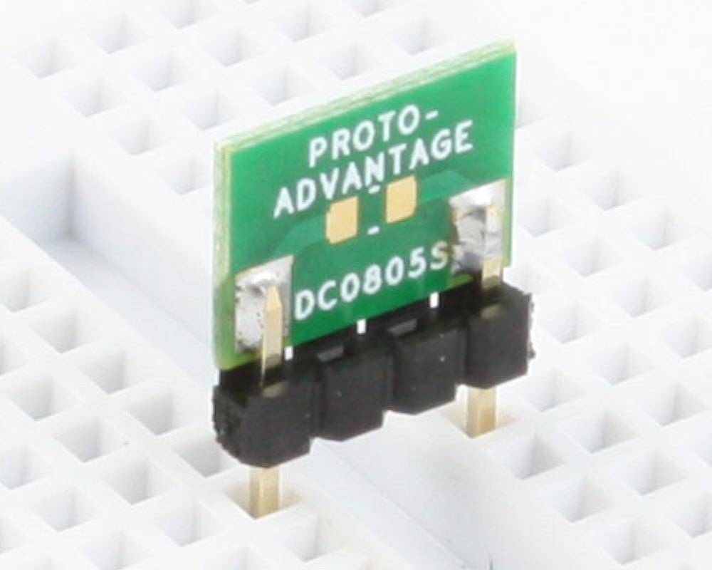 Discrete 0805 to 300mil TH Adapter - SM pins 0