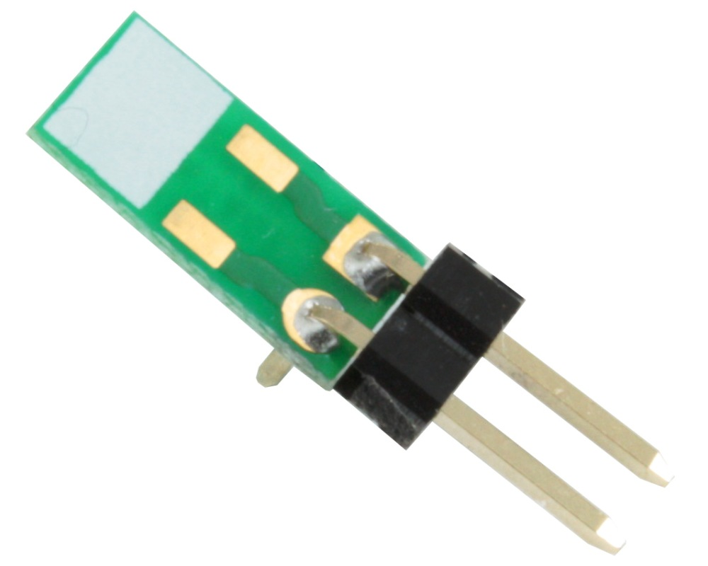 Discrete 1206 to TH Adapter - Jumper pins 0