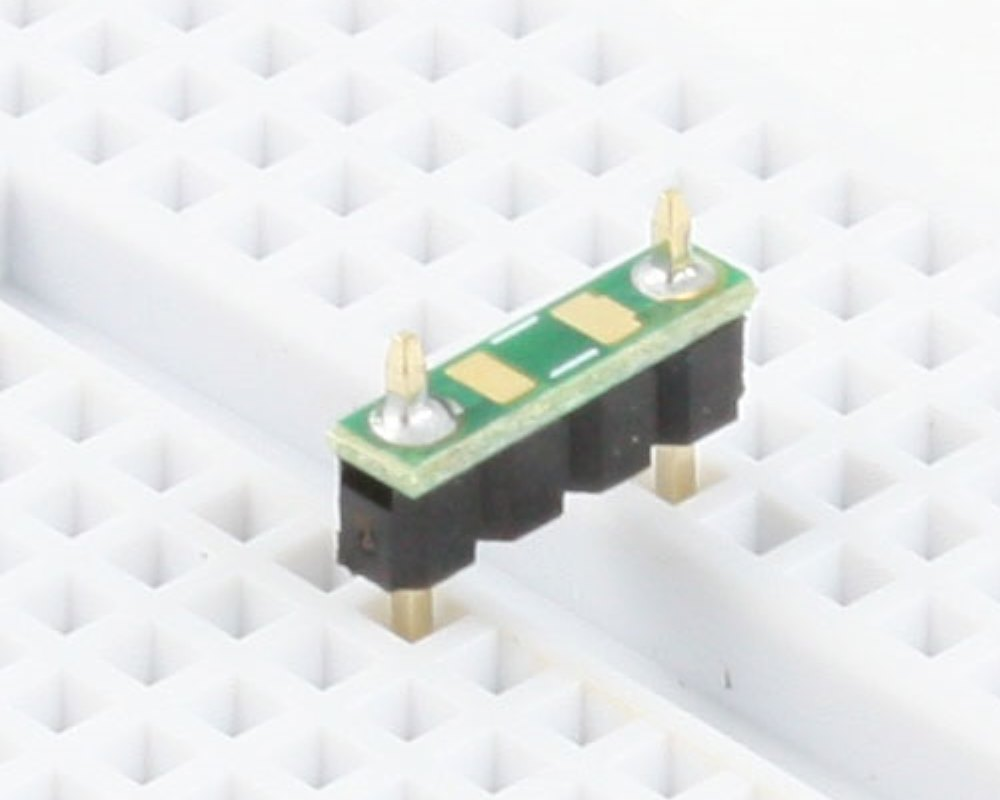 Discrete 1206 to 300mil TH Adapter - TH pins 0