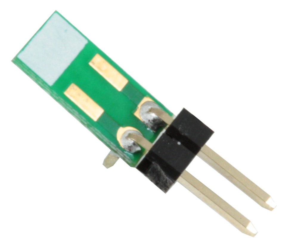 Discrete 1210 to 300mil TH Adapter - Jumper pins 0