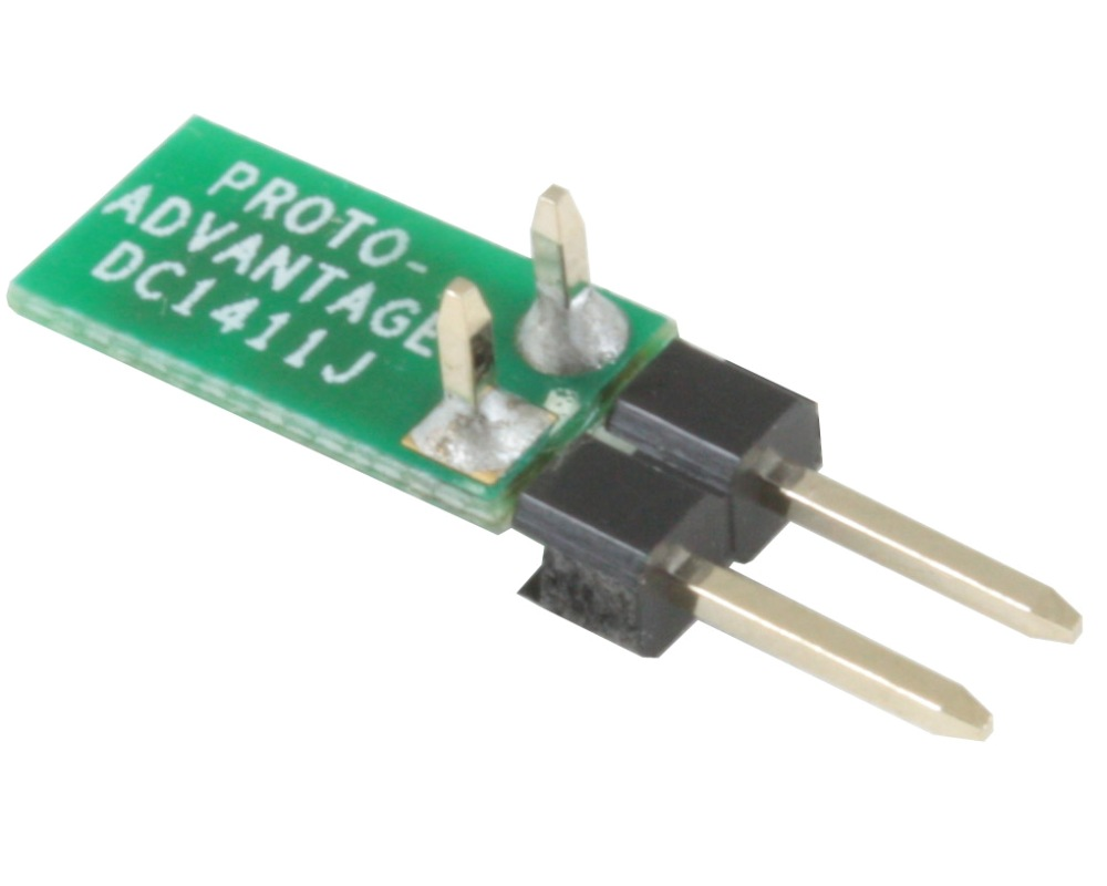 Discrete 1411 to TH Adapter - Jumper pins 1