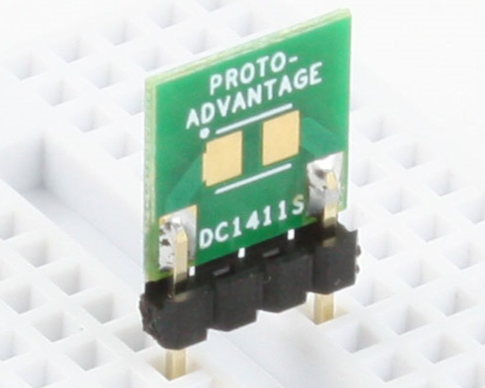 Discrete 1411 to 300mil TH Adapter - SM pins 0