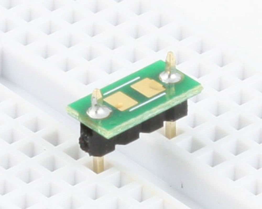 Discrete 1411 to 300mil TH Adapter - TH pins 0