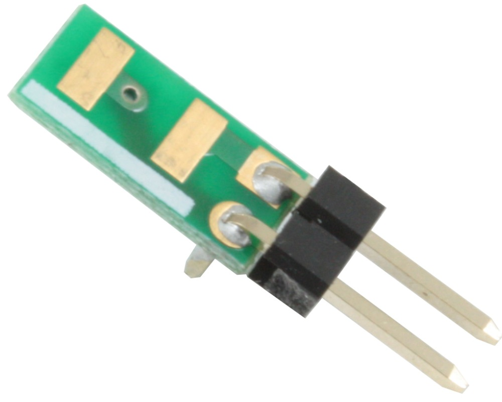 Discrete 1813 to 300mil TH Adapter - Jumper pins 0