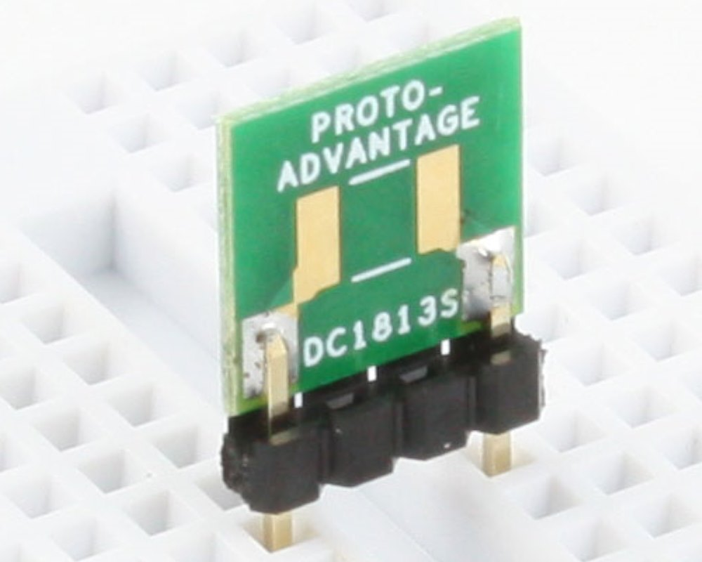 Discrete 1813 to 300mil TH Adapter - SM pins 0
