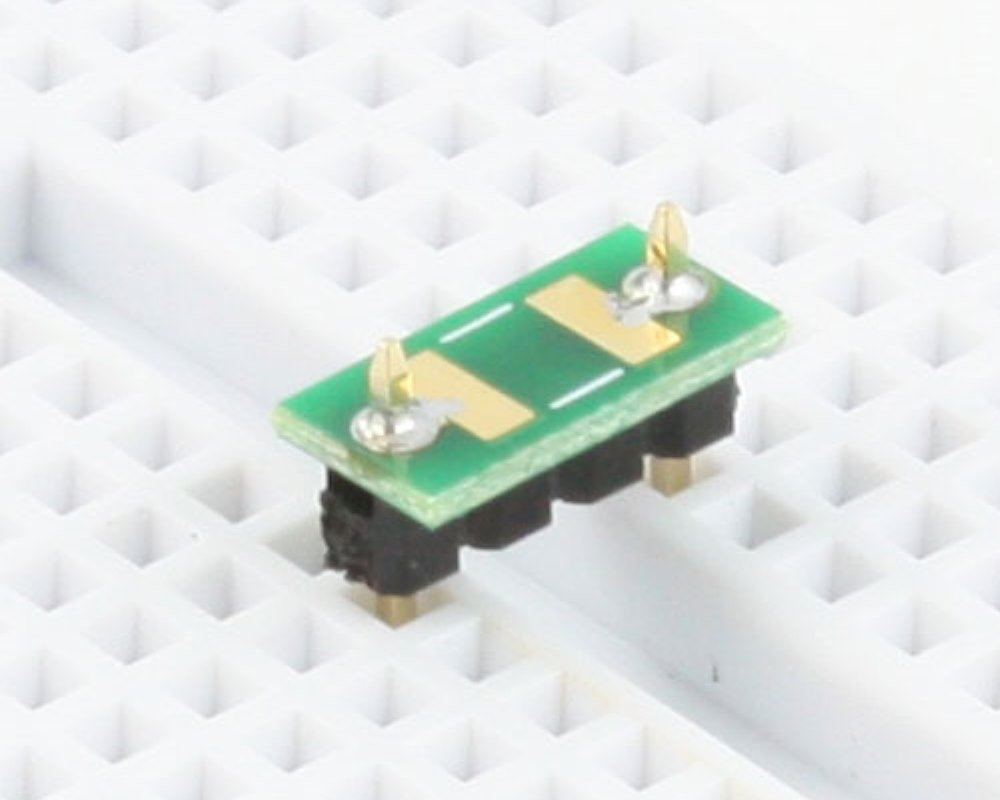 Discrete 1813 to 300mil TH Adapter - TH pins 0