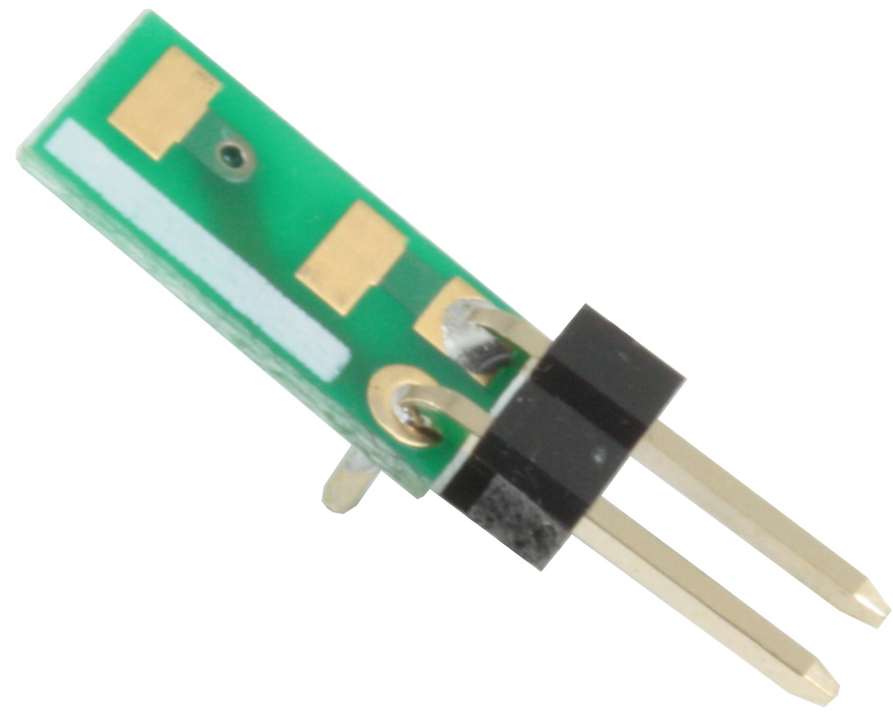 Discrete 2010 to 300mil TH Adapter - Jumper pins 0