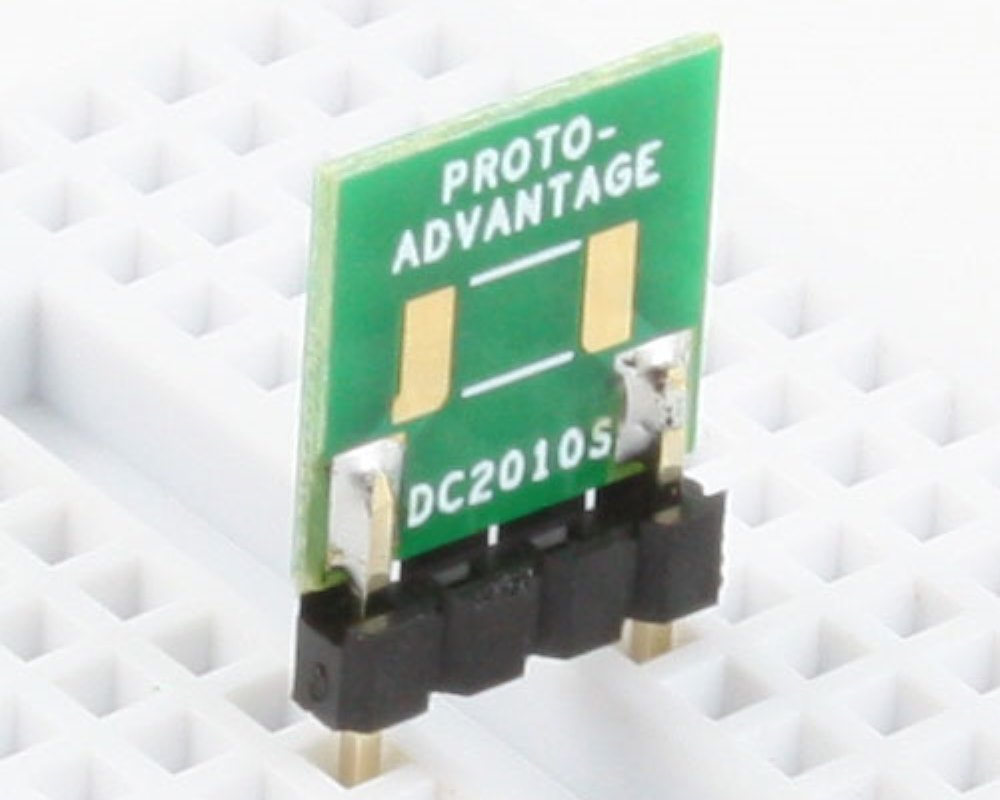 Discrete 2010 to 300mil TH Adapter - SM pins 0