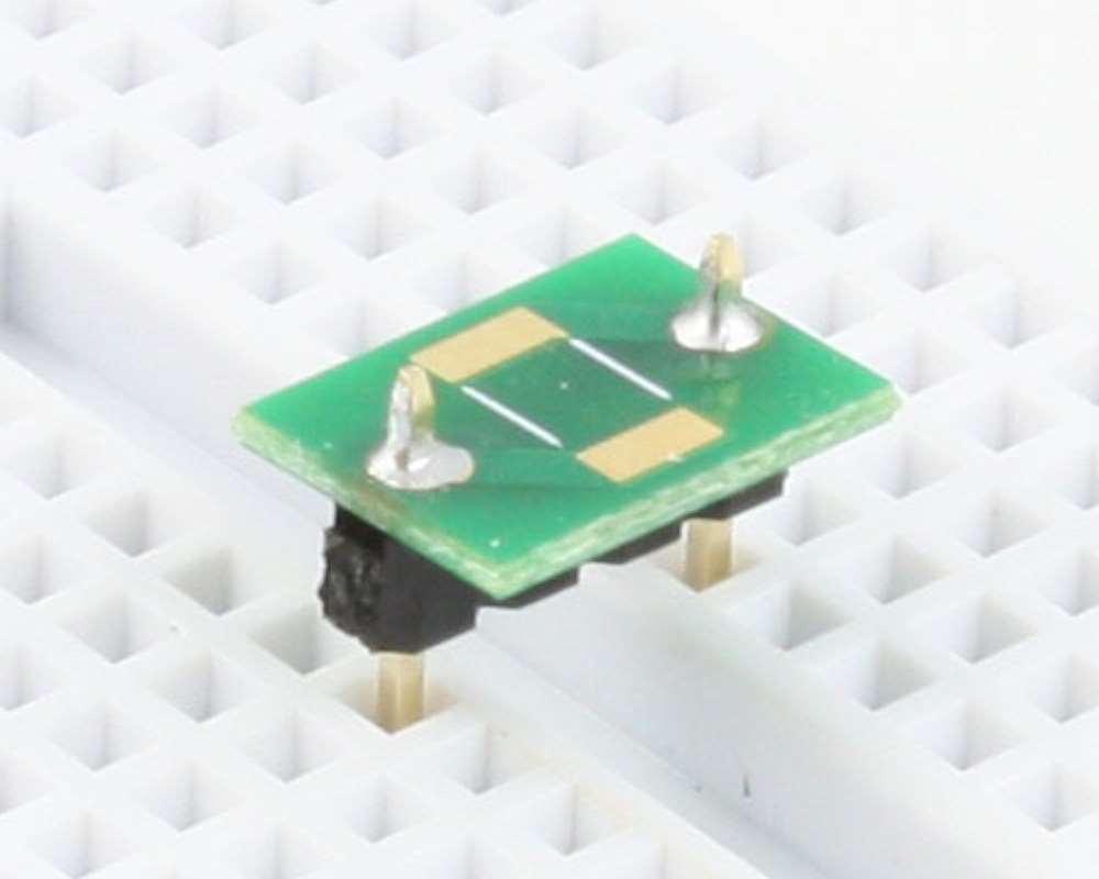 Discrete 2010 to 300mil TH Adapter - TH pins 0