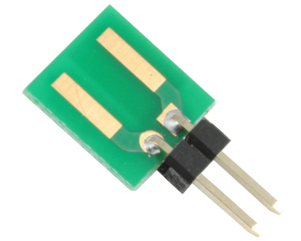 Discrete 2220 to 300mil TH Adapter - Jumper pins 0