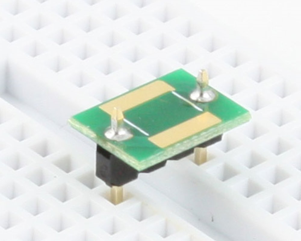 Discrete 2220 to 300mil TH Adapter - TH pins 0