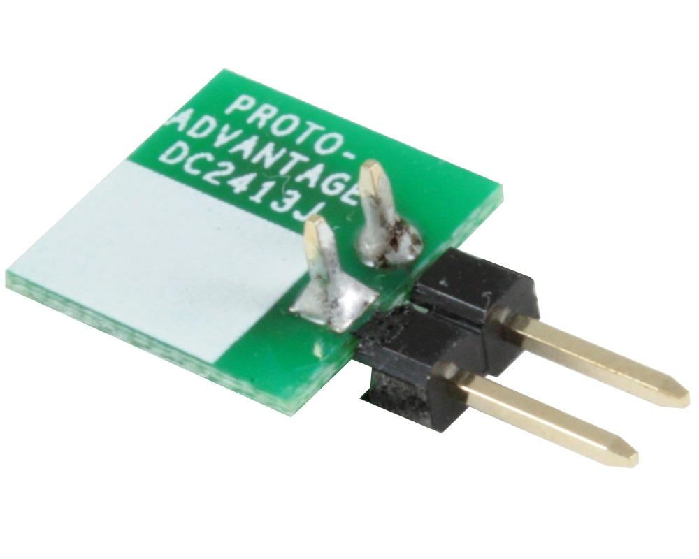 Discrete 2413 to 300mil TH Adapter - Jumper pins 1