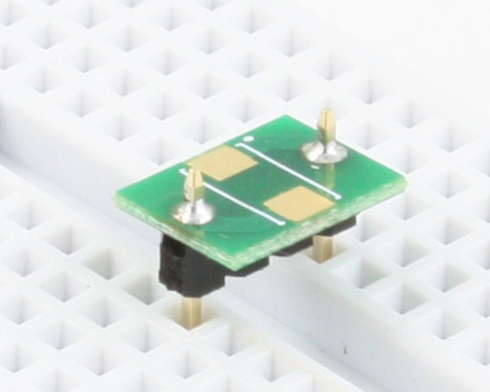 Discrete 2413 to 300mil TH Adapter - TH pins 0