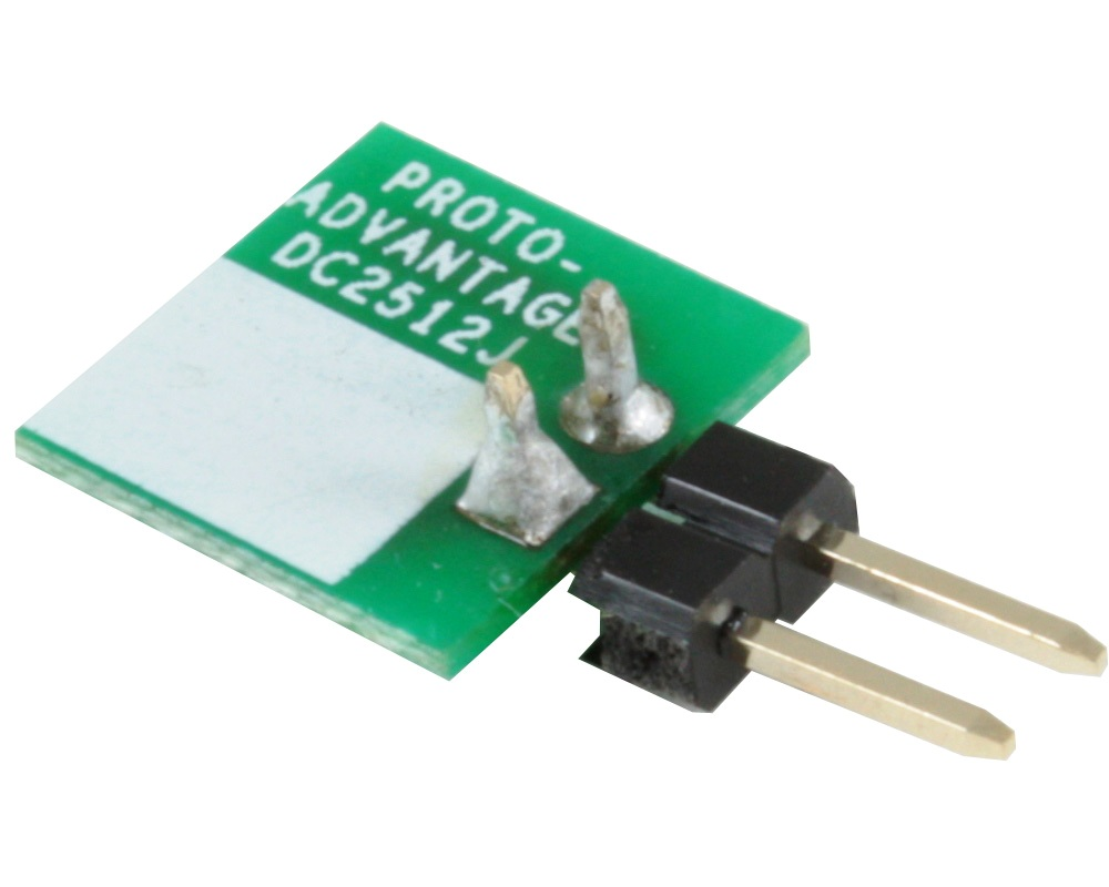 Discrete 2512 to TH Adapter - Jumper pins 1