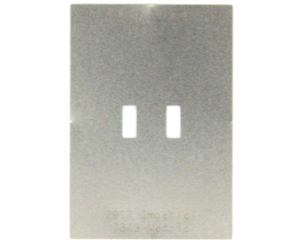 Discrete 2917 Stainless Steel Stencil 0