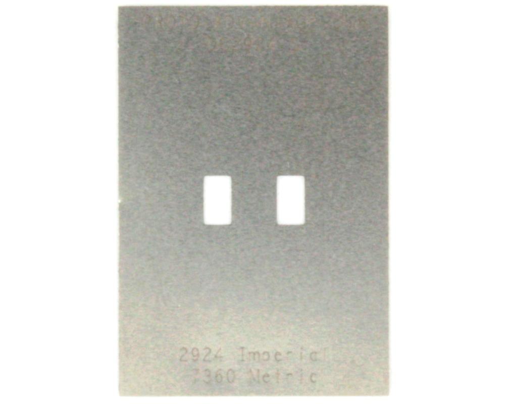 Discrete 2924 Stainless Steel Stencil 0