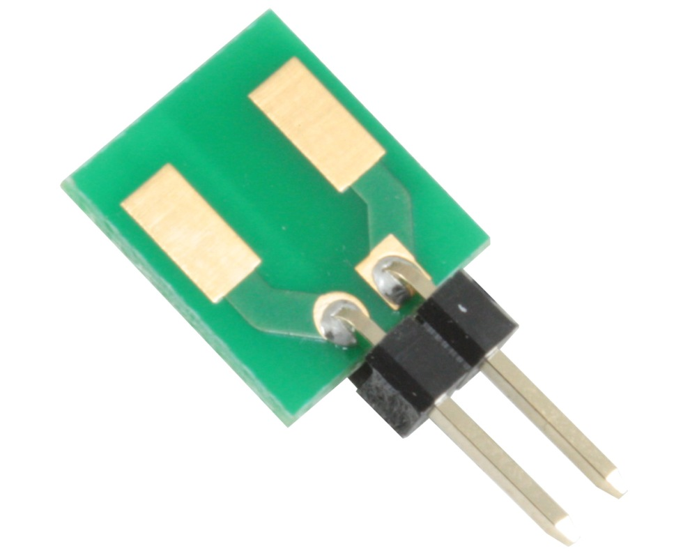Discrete 2924 to 300mil TH Adapter - Jumper pins 0