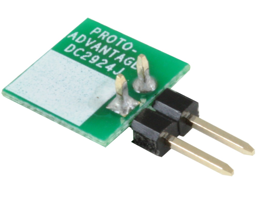 Discrete 2924 to 300mil TH Adapter - Jumper pins 1