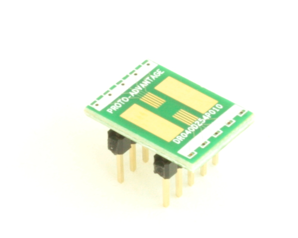 Dual Row 0.4mm Pitch  10-Pin Connector to DIP-10 Adapter 0
