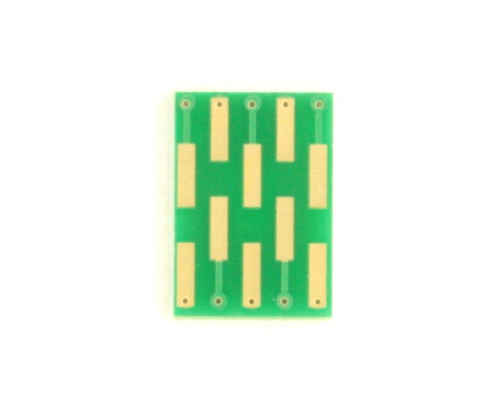 Dual Row 0.4mm Pitch  10-Pin Connector to DIP-10 Adapter 1