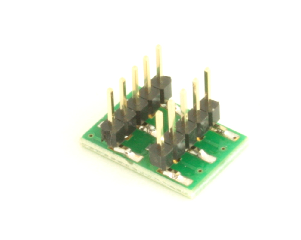 Dual Row 0.4mm Pitch  10-Pin Connector to DIP-10 Adapter 3