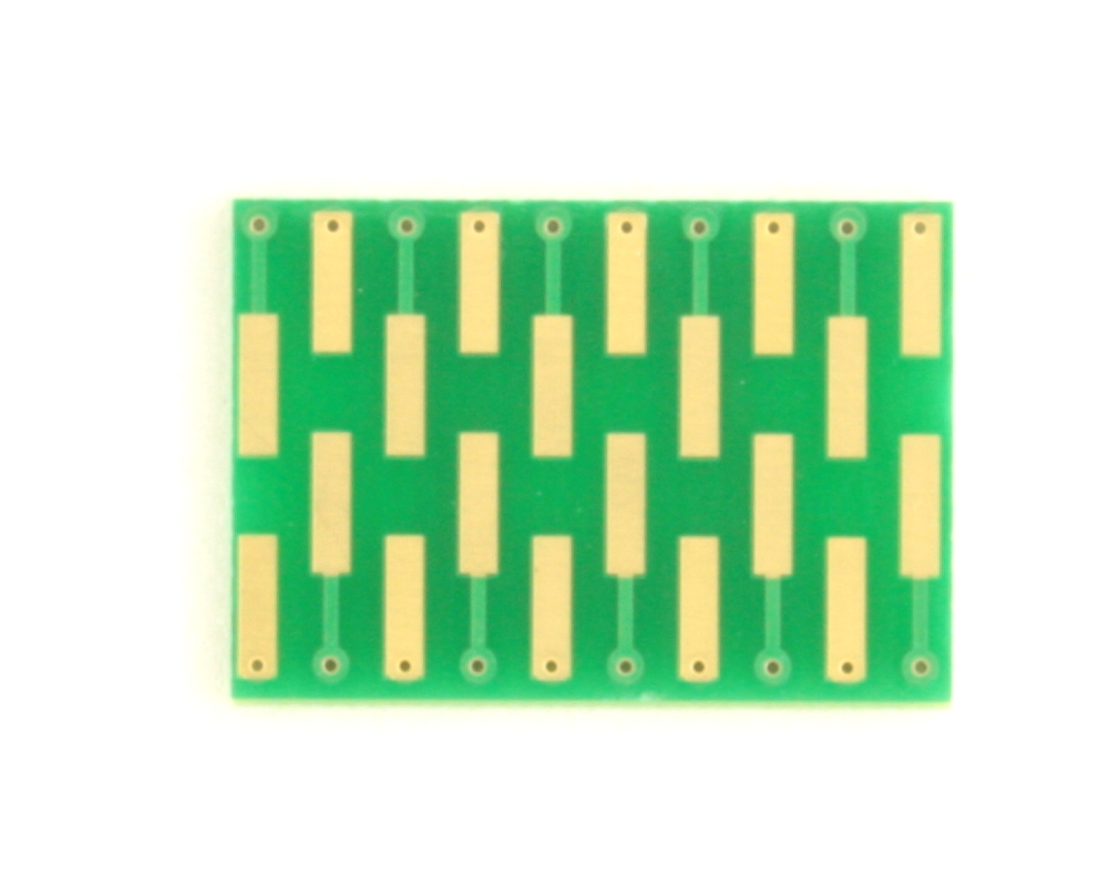 Dual Row 0.4mm Pitch  20-Pin Connector to DIP-20 Adapter 1