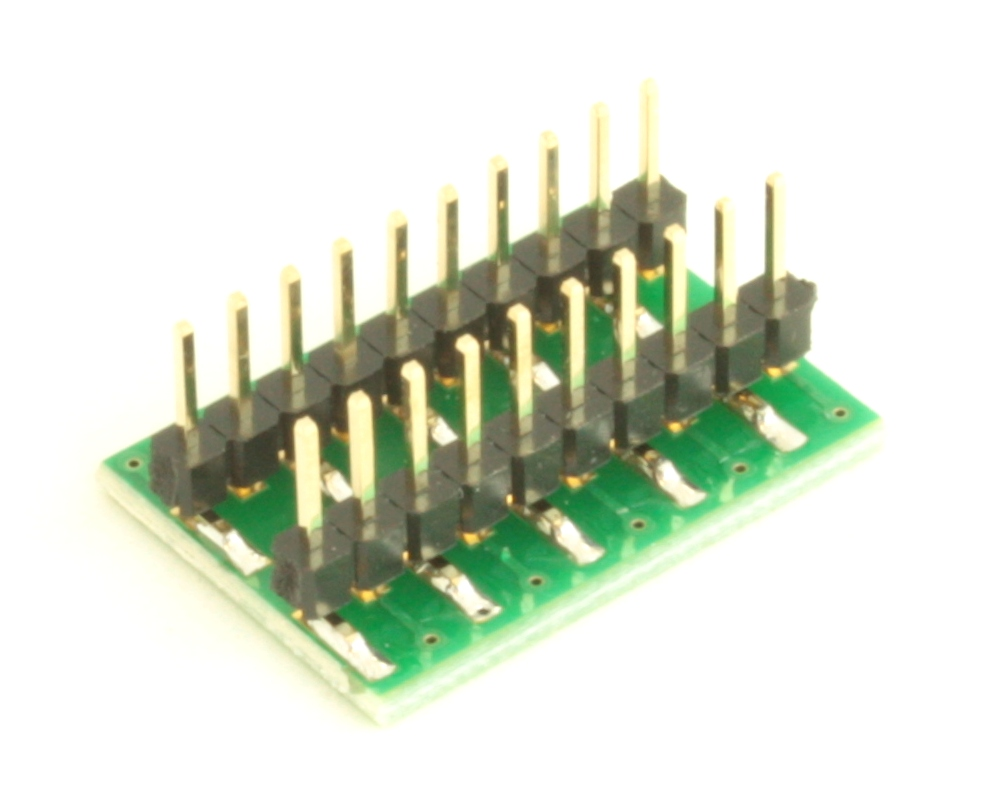 Dual Row 0.4mm Pitch  20-Pin Connector to DIP-20 Adapter 3