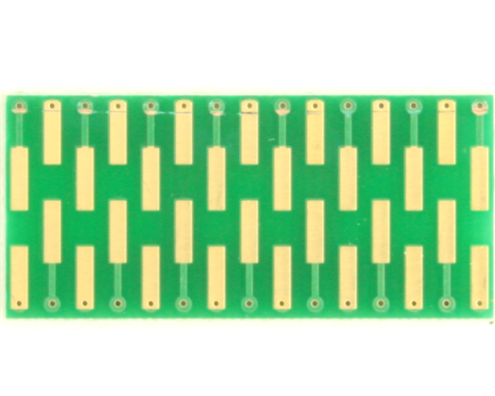 Dual Row 0.4mm Pitch  30-Pin Connector to DIP-30 Adapter 1