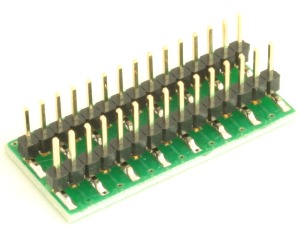 Dual Row 0.4mm Pitch  30-Pin Connector to DIP-30 Adapter 3