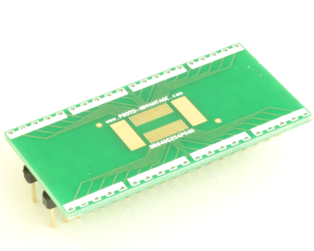 Dual Row 0.4mm Pitch  40-Pin Connector to DIP-40 Adapter 0