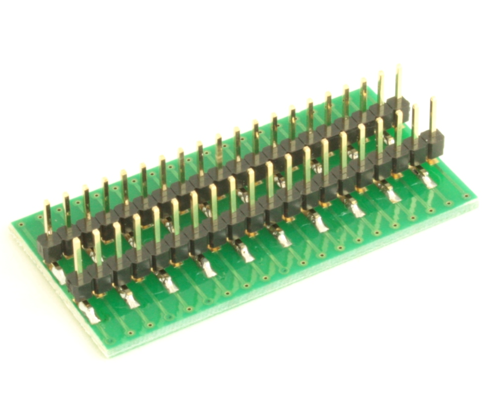 Dual Row 0.4mm Pitch  40-Pin Connector to DIP-40 Adapter 3