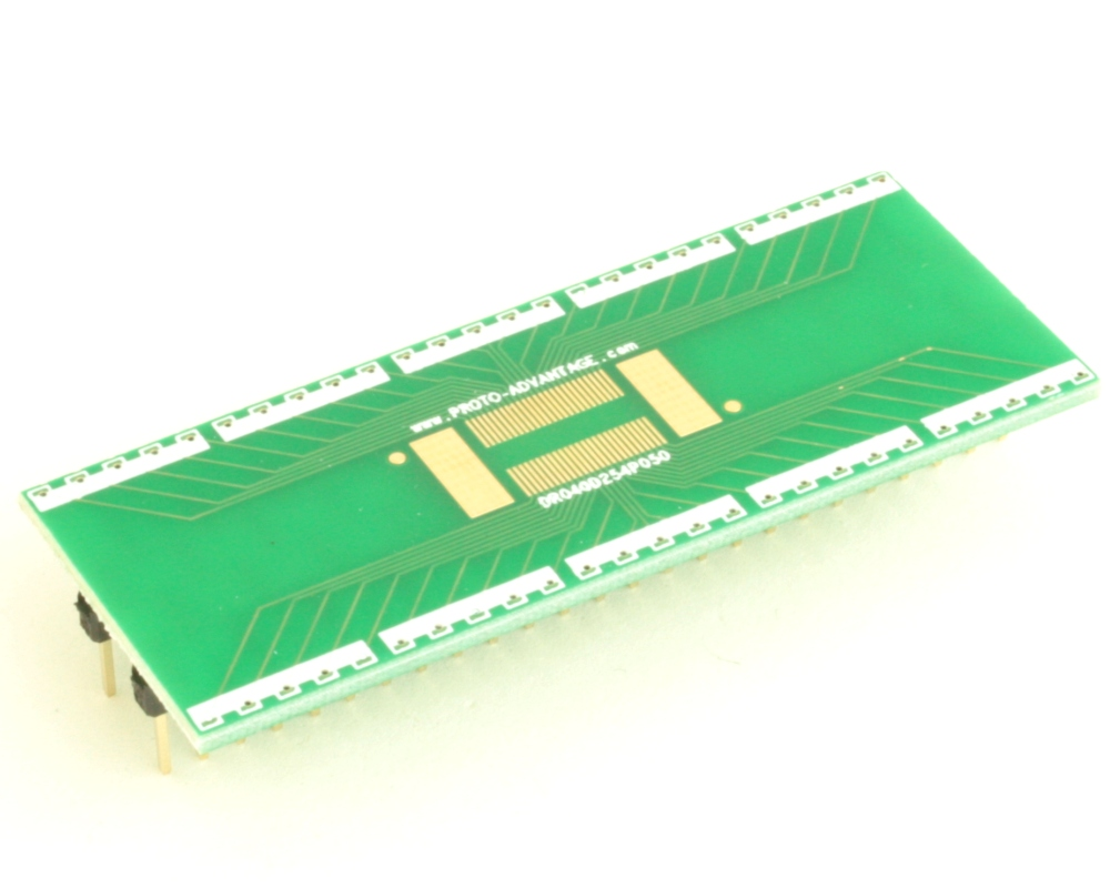 Dual Row 0.4mm Pitch  50-Pin Connector to DIP-50 Adapter 0