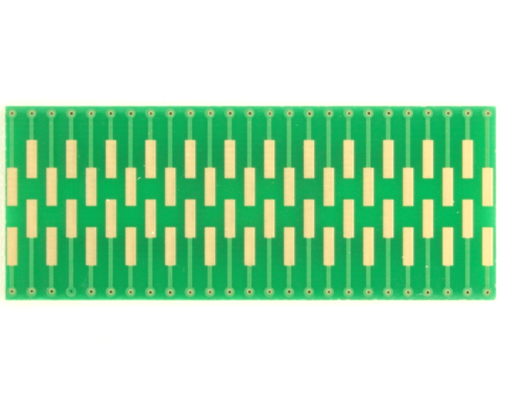 Dual Row 0.4mm Pitch  50-Pin Connector to DIP-50 Adapter 1