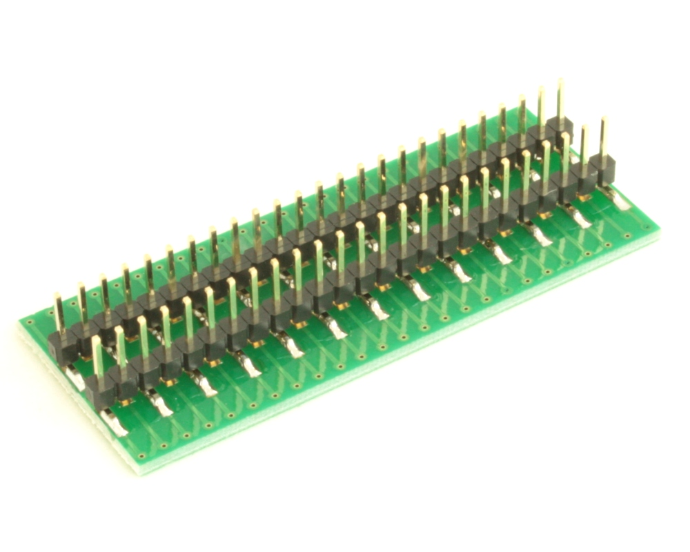Dual Row 0.4mm Pitch  50-Pin Connector to DIP-50 Adapter 3