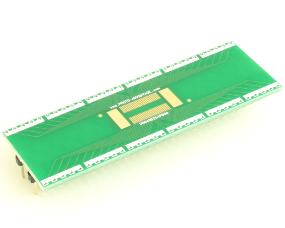 Dual Row 0.4mm Pitch  60-Pin Connector to DIP-60 Adapter 0