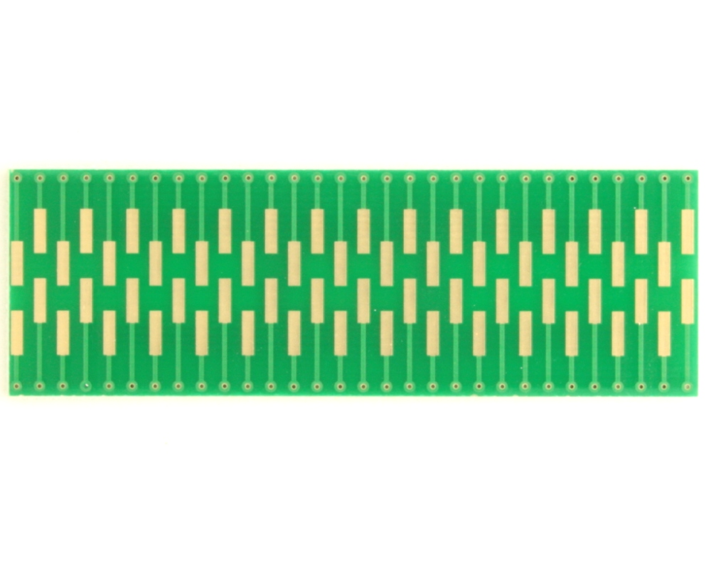 Dual Row 0.4mm Pitch  60-Pin Connector to DIP-60 Adapter 1