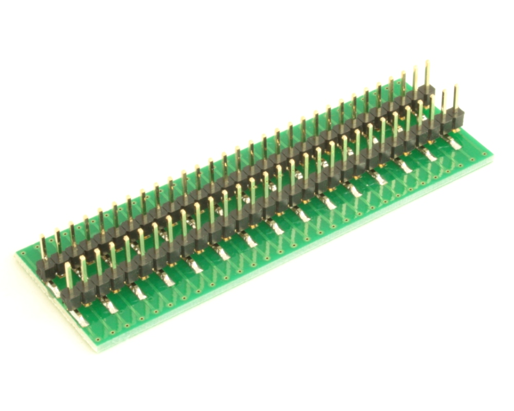 Dual Row 0.4mm Pitch  60-Pin Connector to DIP-60 Adapter 3