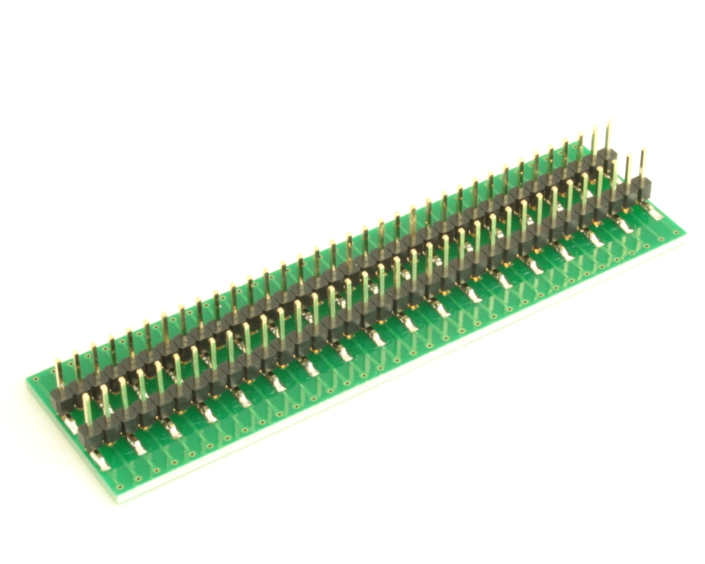 Dual Row 0.4mm Pitch  70-Pin Connector to DIP-70 Adapter 3