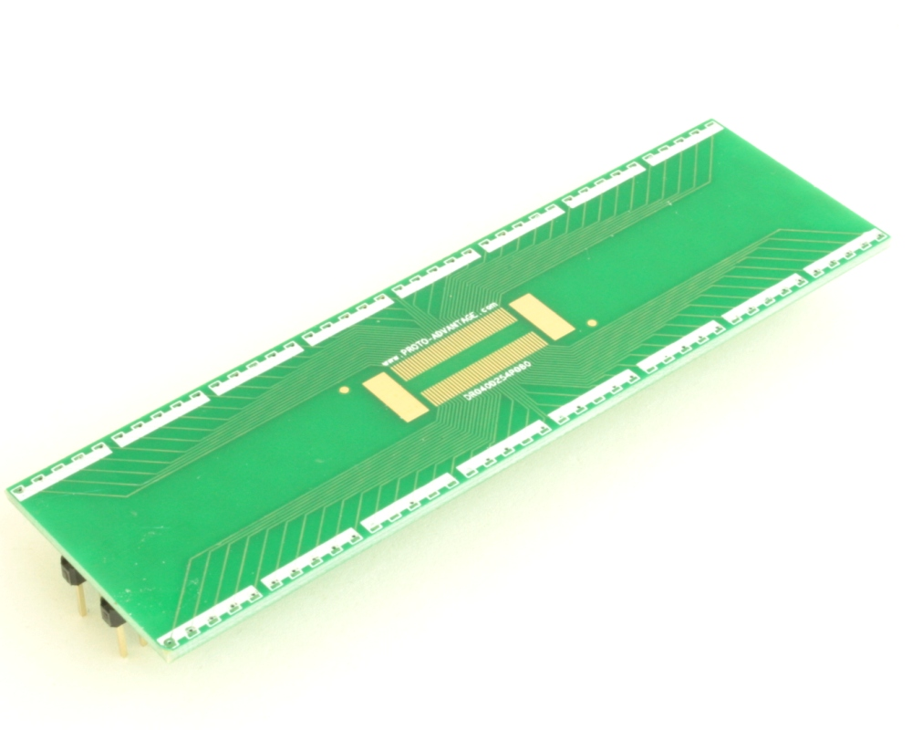 Dual Row 0.4mm Pitch  80-Pin Connector to DIP-80 Adapter 0