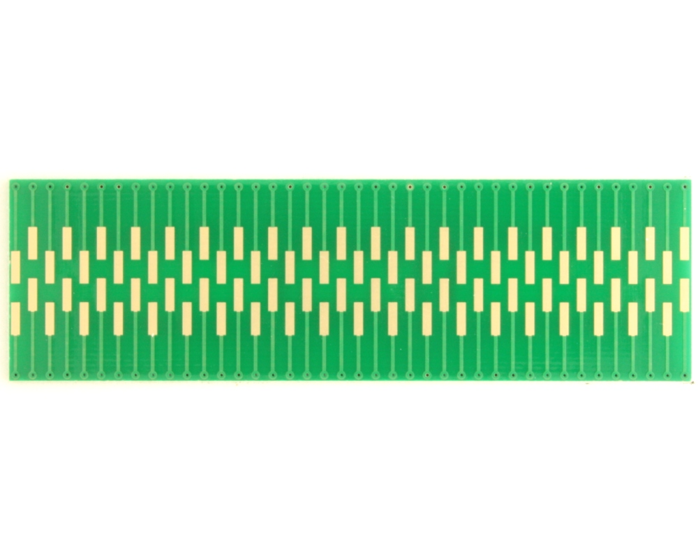 Dual Row 0.4mm Pitch  80-Pin Connector to DIP-80 Adapter 1