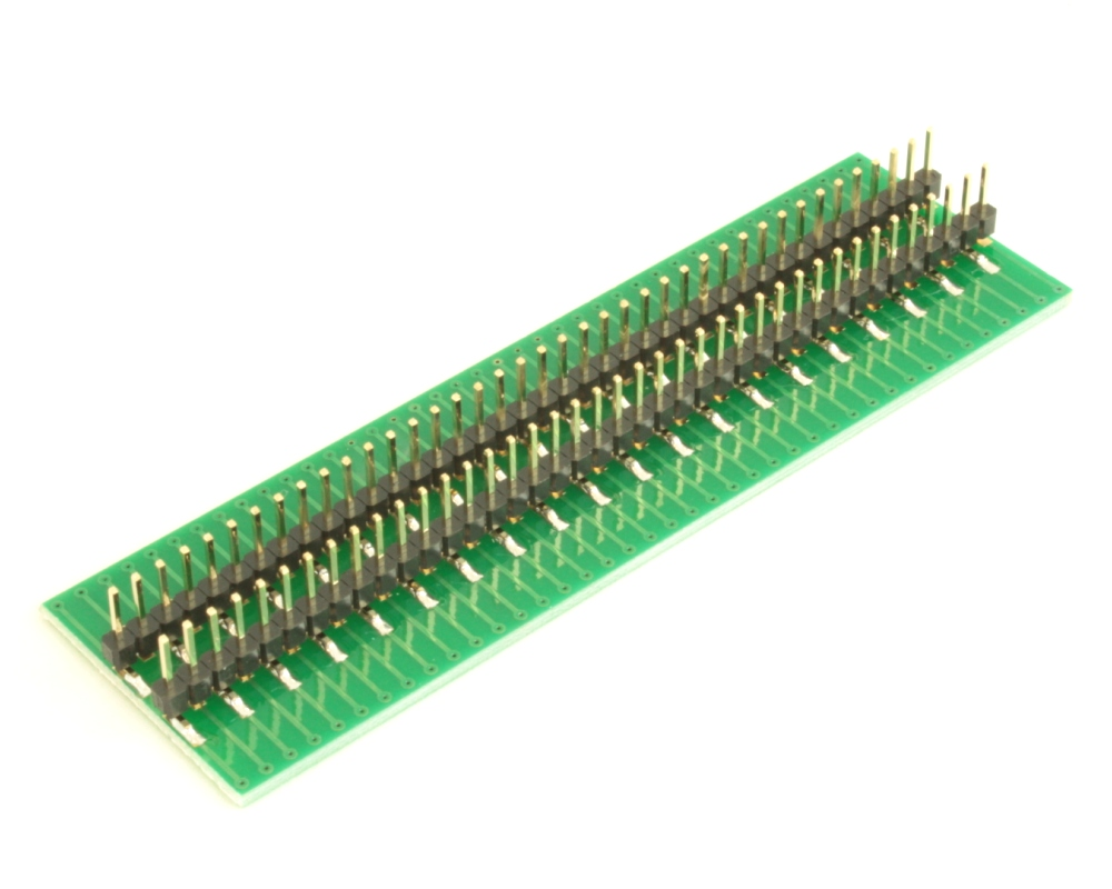 Dual Row 0.4mm Pitch  80-Pin Connector to DIP-80 Adapter 3