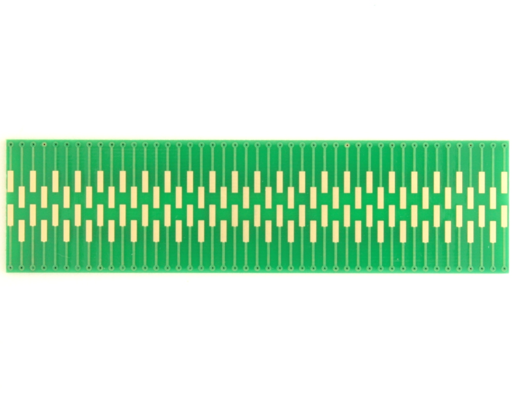 Dual Row 0.4mm Pitch  90-Pin Connector to DIP-90 Adapter 1