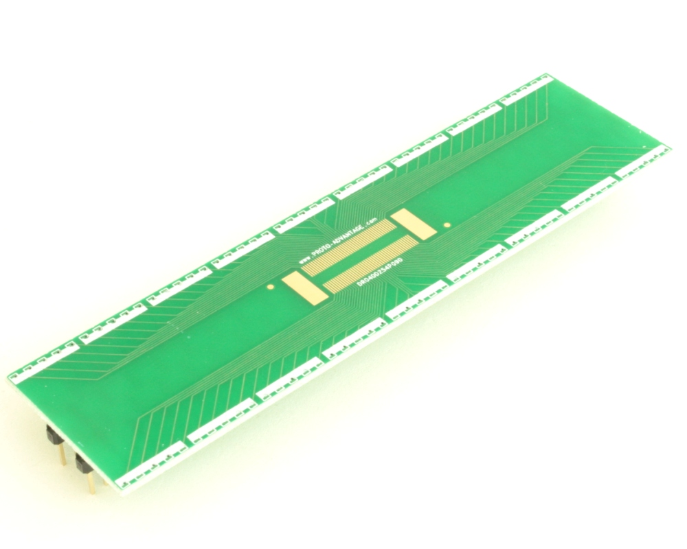 Dual Row 0.4mm Pitch  90-Pin Connector to DIP-90 Adapter 2