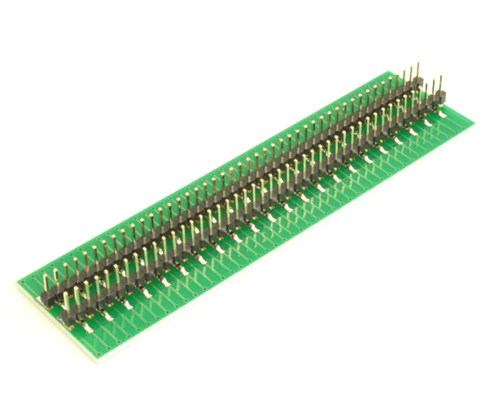 Dual Row 0.4mm Pitch  90-Pin Connector to DIP-90 Adapter 3