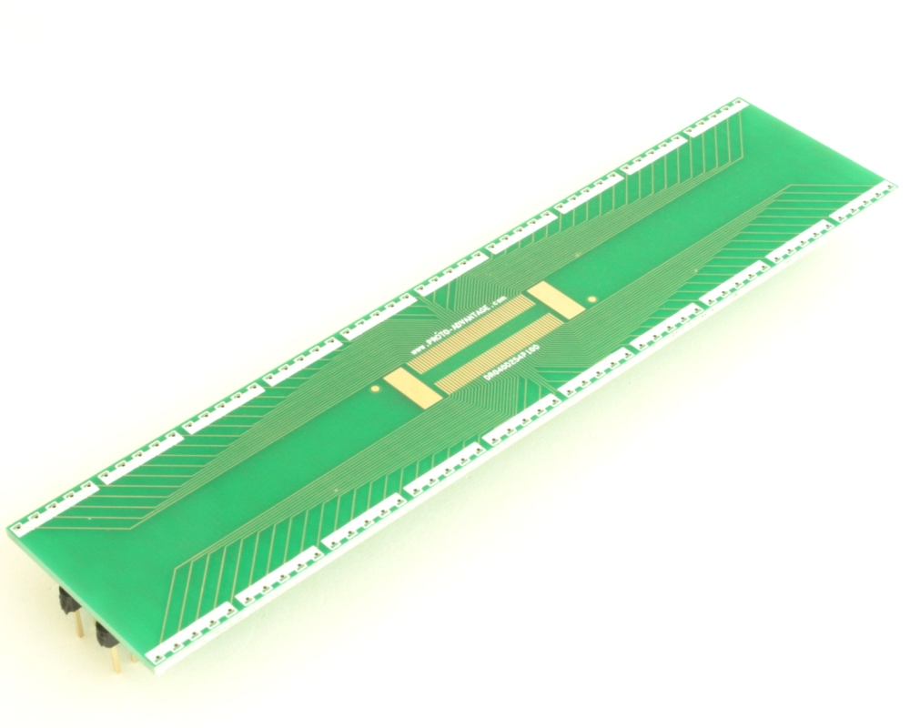 Dual Row 0.4mm Pitch 100-Pin Connector to DIP-100 Adapter 0
