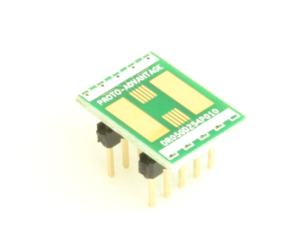 Dual Row 0.5mm Pitch  10-Pin Connector to DIP-10 Adapter 0