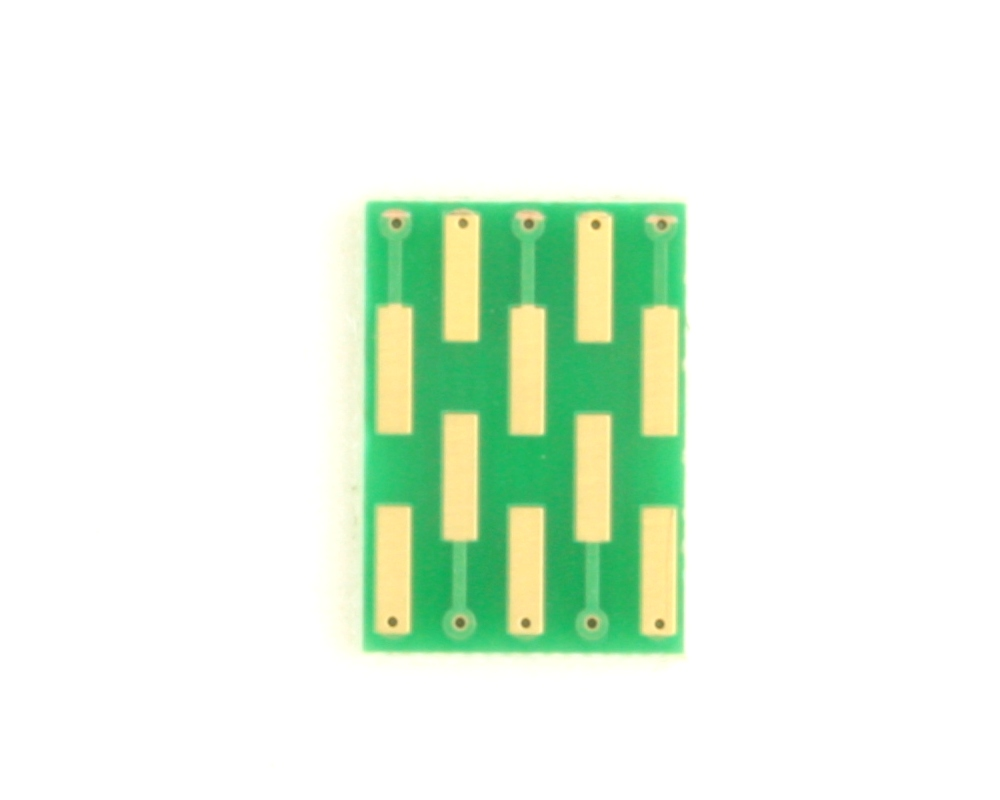 Dual Row 0.5mm Pitch  10-Pin Connector to DIP-10 Adapter 1