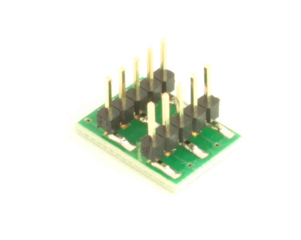 Dual Row 0.5mm Pitch  10-Pin Connector to DIP-10 Adapter 3