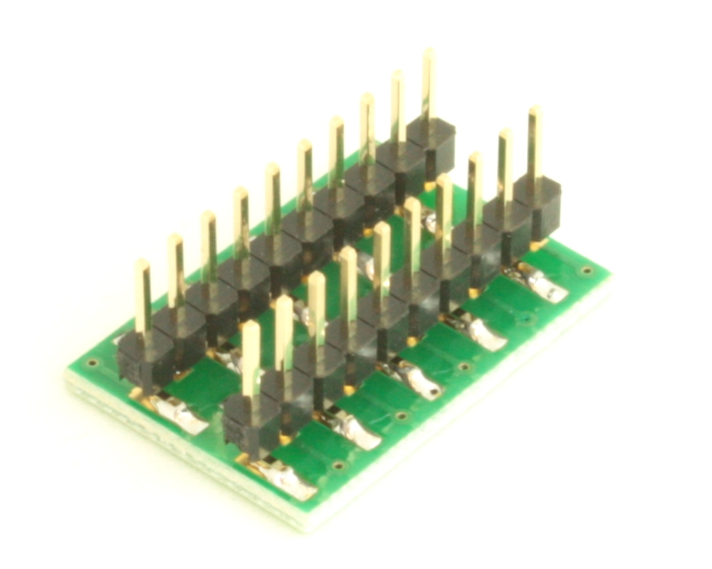 Dual Row 0.5mm Pitch  20-Pin Connector to DIP-20 Adapter 3